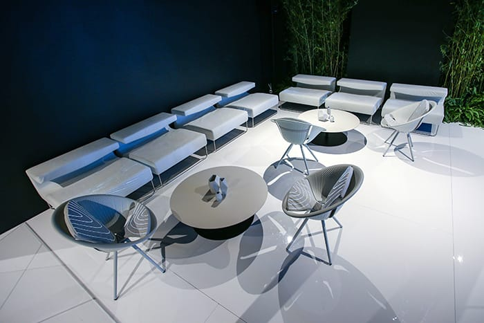 Alcantara Corner Lounges | Audi City Lab