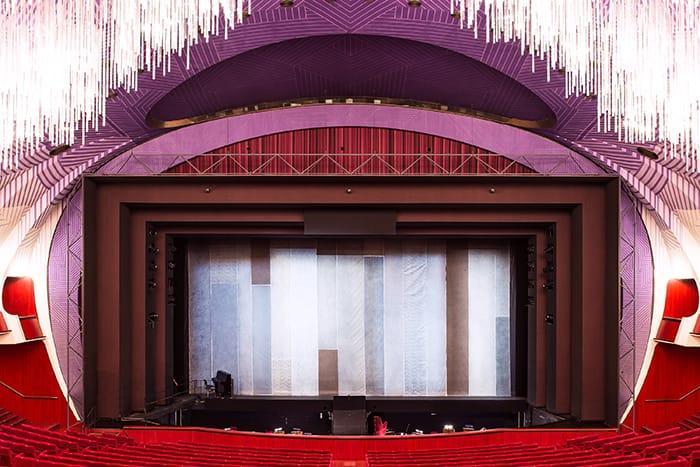 レージョ歌劇場の『ファルスタッフ』で (Falstaff)