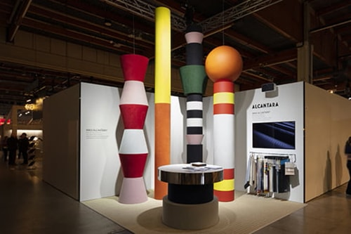 Alcantara with ADEA at the Stockholm Furniture & Light Fair