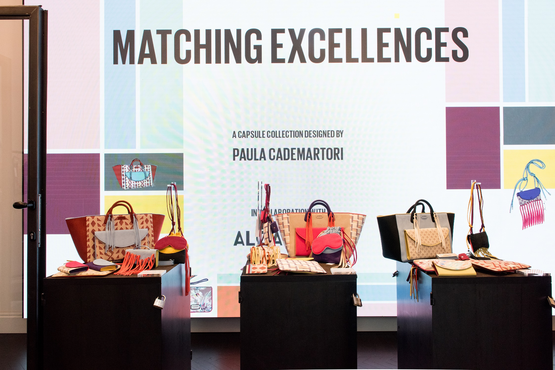 MATCHING EXCELLENCES SPECIAL CAPSULE COLLECTION CON PAULA CADEMARTORI